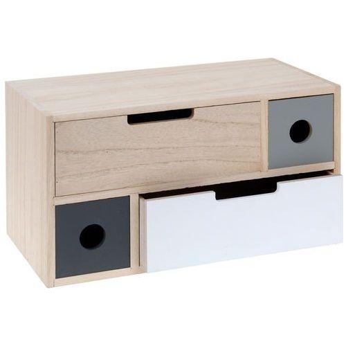 Organizer na drobiazgi - szafka z 4 szufladkami