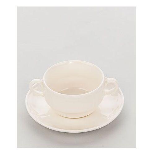 Spodek do bulionówki/filiżanki porcelanowej taranto marki Karolina