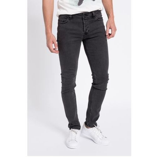- jeansy loom dark grey denim 4030 marki Only & sons