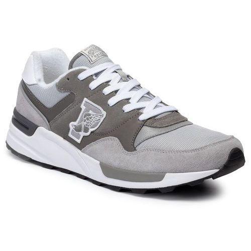 Sneakersy POLO RALPH LAUREN - Trackstr 100 809755008002 Grey/Museum Grey, kolor szary