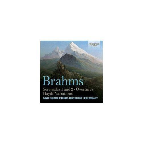 Brahms: Serenades 1 & 2 / Overtures (Płyta CD)