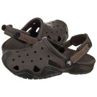 Klapki swiftwater clog m espresso/black 202251-23k (cr111-b) marki Crocs