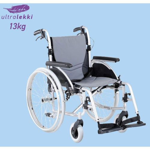 Wózek inwalidzki aluminiowy ERGONOMIC
