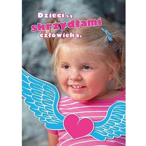 Kartka uśmiech dziecka - skrzydła z kategorii Dewocjonalia