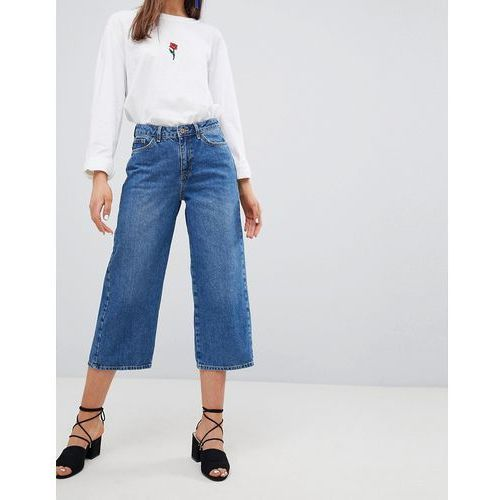 New look wide leg jeans - blue