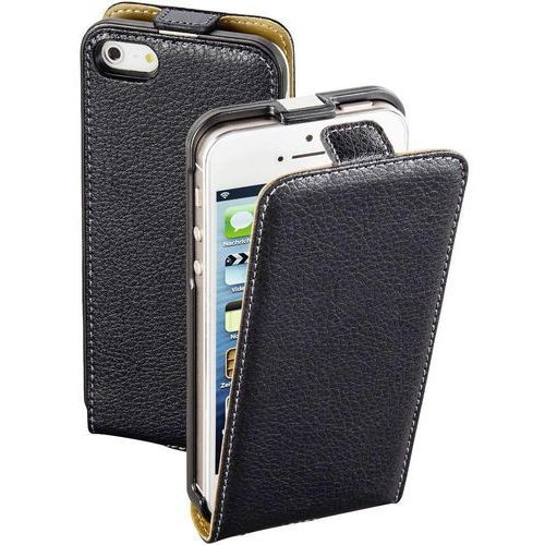 Hama Etui na smartfon  smart case do apple iphone 5/5s/se czarny (4047443315076)