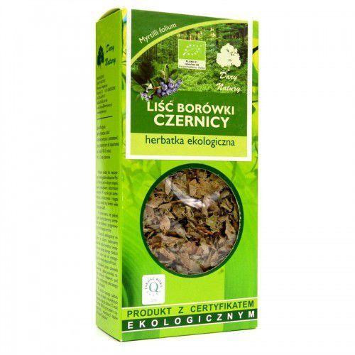 Herbata liść borówki czernicy bio 25g marki Dary natury