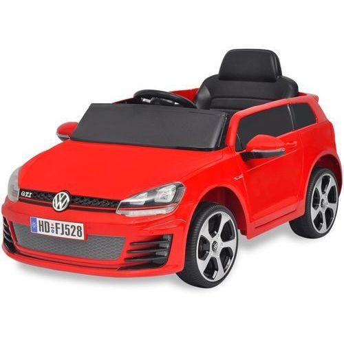 vidaXL Samochód-jeździk VW Golf GTI 7 ze zdalnym sterowaniem, czerwony (8718475956235)