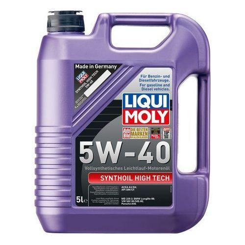 Liqui moly  synthoil high tech 5w-40 5l