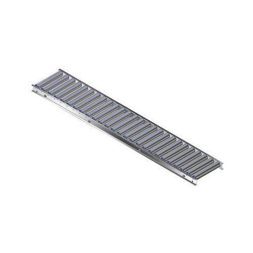 Gura fördertechnik Lekki przenośnik rolkowy z ramą aluminiową, rolki z aluminium, szer. taśmy 300 m