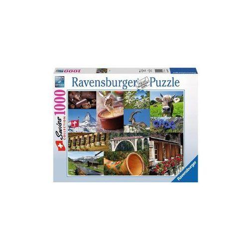 Raven puzzle szwajcarskie klimaty marki Ravensburger