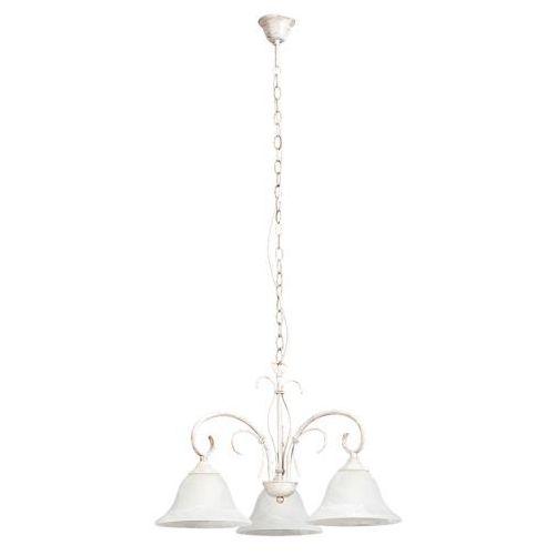Lampa wisząca katherine 3x60w e27 antyczny biały 7190 marki Rabalux