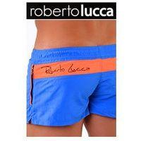 Szorty kapielowe męskie 70146 milano bluette/orange marki Roberto lucca