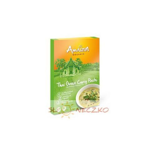 Pasta curry thai green bio 80 g marki Amaizin