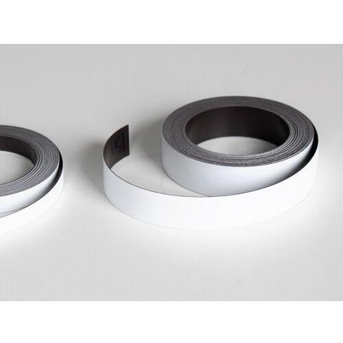 pasek magnetyczny biały, pasek magnetyczny