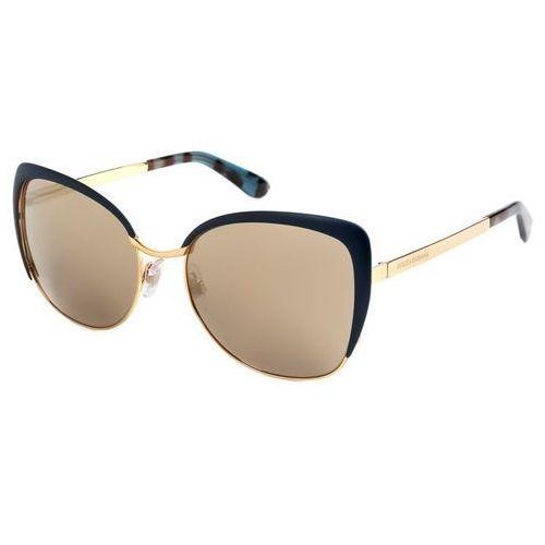 Okulary słoneczne dg2143 sicilian taste 02/6g marki Dolce & gabbana