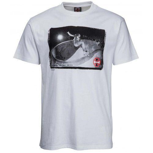 koszulka INDEPENDENT - Rhino/AP Nude Bowl Tee White (WHITE) rozmiar: L, kolor biały