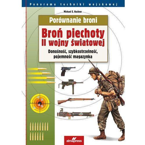 Porównanie broni Broń piechoty II wojny światowej (9788370205553)