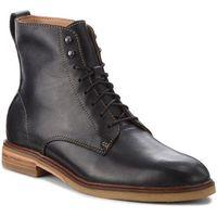 Kozaki - clarkdale rich 261362657 black leather marki Clarks