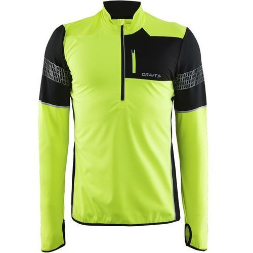 Craft bluza sportowa Brilliant 2.0 Thermal Wind yellow black M (7318572545489)