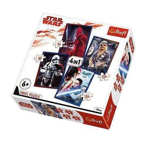 Trefl Puzzle 4w1 star wars gotowi do starcia - (5900511342772)