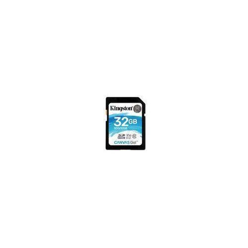 Karta pamięci Kingston Canvas GO! SDHC 32GB class 10 UHS-I U3 V30 - 45/90MB/s