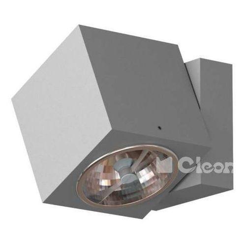 Kinkiet lampa ścienna vision t012c2km+kolor+35w regulowana oprawa reflektorek kostka marki Cleoni