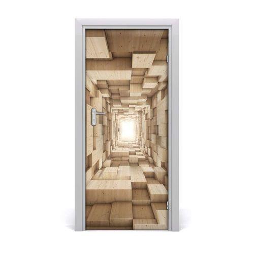 Naklejka samoprzylepna na drzwi ścianę Abstrakcja