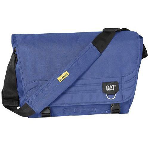 """Caterpillar Millenial Classic Aron torba na ramię na laptopa 15"""" CAT / granatowa - Navy Blue, kolor niebieski"""