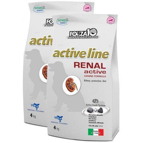 Forza10 renal active 2x4kg (8kg) dla psa: waga - 2 x 4kg dostawa 24h gratis od 99zł