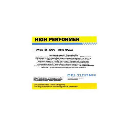 High Performer 5W-30 SAPS C1 Ford+Mazda+Volvo 1 Litr Puszka