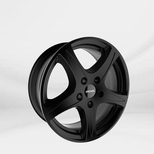 """Felgi aluminiowe 15"""" 4x100 r56 – czarny mat marki Ronal"""
