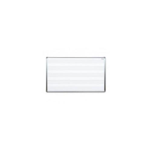 Tablica suchościeralna magnetyczna biała 170x100 cm z nadrukiem - 5-linia