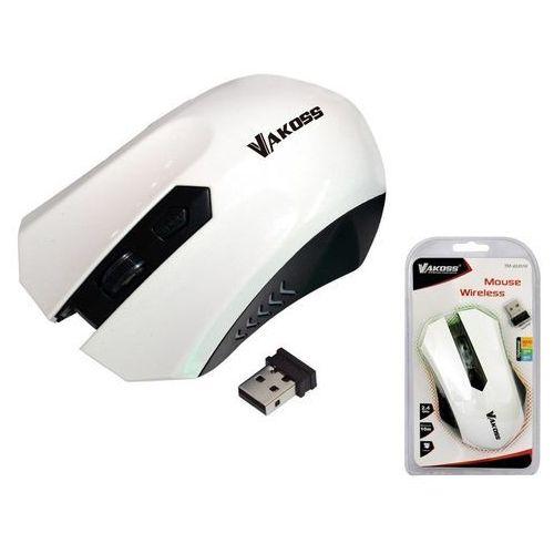 Mysz tm-658uw biała darmowy odbiór w 21 miastach! marki Vakoss