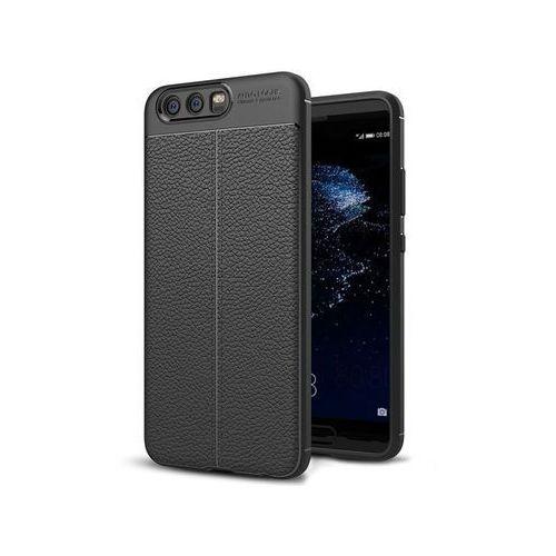Etui pancerne Alogy leather case do Huawei P10 czarne + Szkło