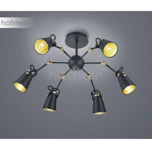Trio edward lampa sufitowa czarny, 6-punktowe - nowoczesny/przemysłowy/skandynawski - obszar wewnętrzny - edward - czas dostawy: od 3-6 dni roboczych (4017807387889)