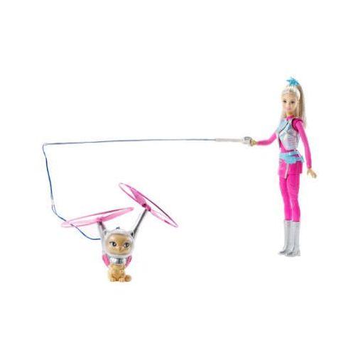 Mattel barbie i latający kotek marki Barbie