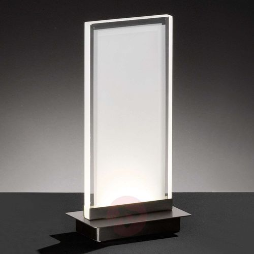 Oświetlenie honsel Honsel forma lampa stołowa nikiel matowy, 1-punktowy