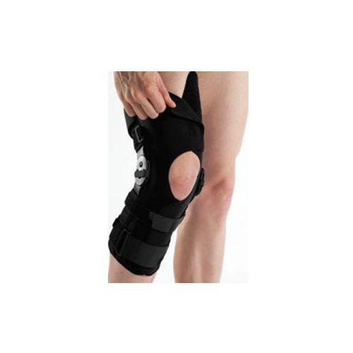 Timago Długi stabilizator stawu kolanowego z szynami otwarty