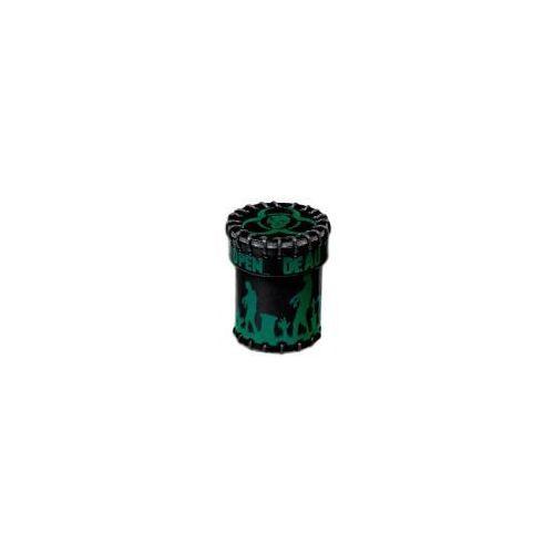 Kubek skórzany Zombie czarno-zielony