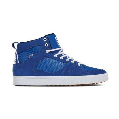 buty ETNIES - Harrison Htw X 32 Blue/White/Gum (444) rozmiar: 45, kolor niebieski