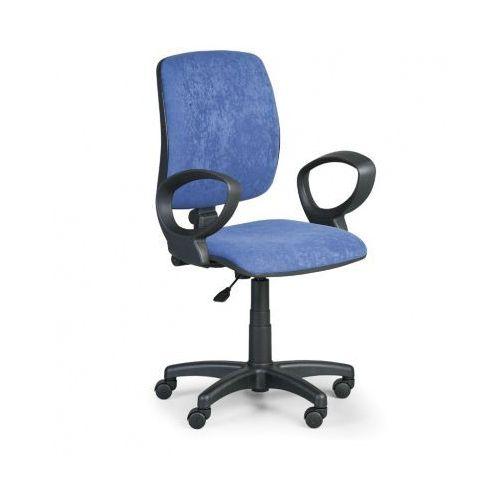 Euroseat Krzesło biurowe torino ii z podłokietnikami - niebieske