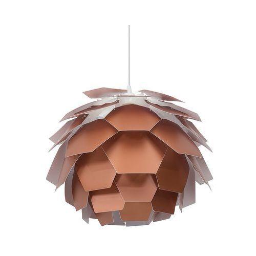 Lampa miedziana - sufitowa - żyrandol - lampa wisząca - SEGRE mała, kolor Miedziany