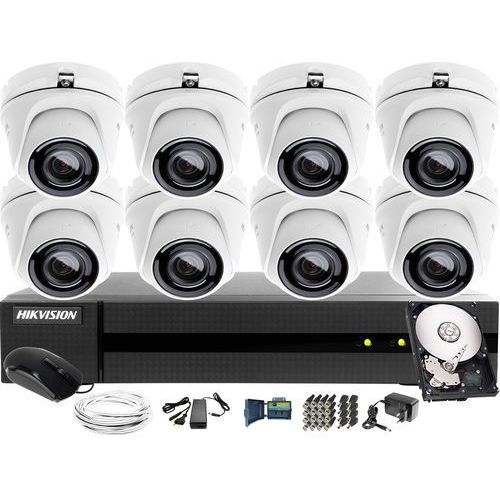 8x hwt-t123-m zestaw monitoring hwd-6108mh-g2, 1tb, akcesoria marki Hikvision hiwatch