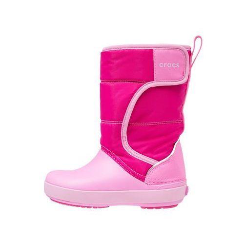 Crocs lodgepoint snow kozaki candy pink/party pink