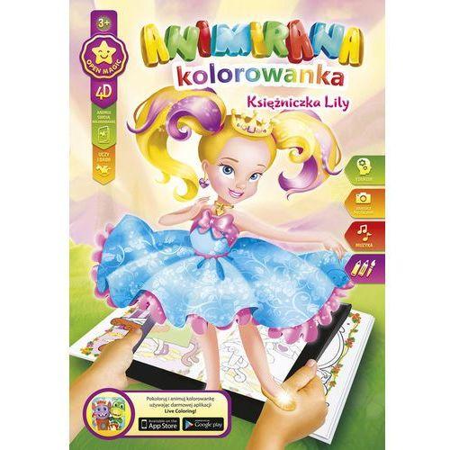 Kolorowanka A4/8 4D Księżniczka Lilly - Panta-Plast