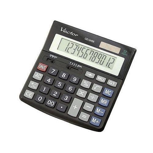 Kalkulator cd2455 12 pozycyjny marki Vector. Najniższe ceny, najlepsze promocje w sklepach, opinie.