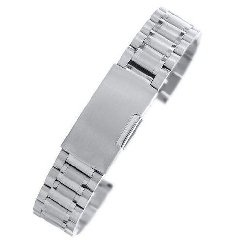 Alletime.pl Złota stalowa bransoleta do zegarka ss1801 - 18mm