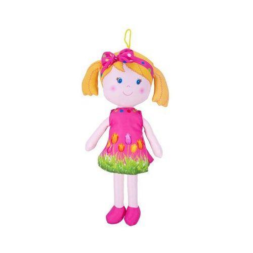lalka szmaciana alice 35 cm, blond w kucyk marki Beppe
