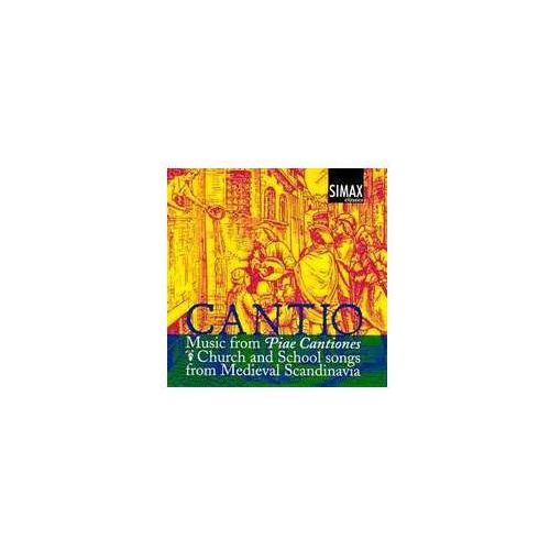 Music from piae cantiones (1582) - church and school songs from medieval scandinavia marki Simax classics